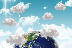 composite ziemskiego gov wizerunku nasa specjalni dzięki visibleearth Www ilustracja wektor