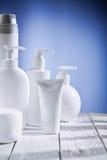Compositio des objets de skincare Image stock