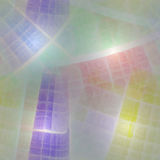 Composition of abstract radial grid Stock Images