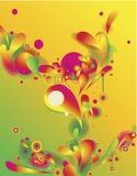 Composition abstraite Image libre de droits