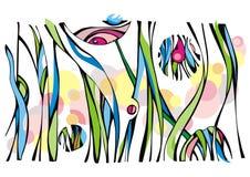 Composition abstraite illustration de vecteur
