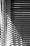 Composition abstraite avec des abat-jour de fenêtre Photos stock