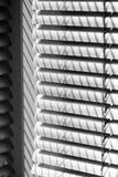 Composition abstraite avec des abat-jour de fenêtre Images libres de droits