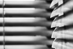 Composition abstraite avec des abat-jour de fenêtre Photographie stock