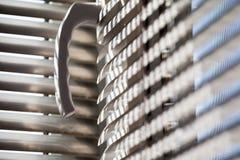 Composition abstraite avec des abat-jour de fenêtre Photographie stock libre de droits