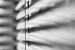Composition abstraite avec des abat-jour de fenêtre Image stock
