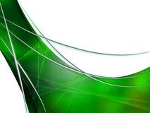 Composition abstraite avec des courbes, lignes, gradients Photos stock