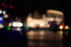 Composition abstraite avec des lumières de Londres Photos stock