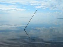Composition abstraite avec le bâton sur l'Amazone Photographie stock libre de droits