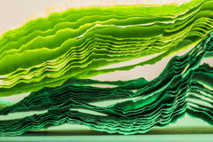Composition abstraite colorée avec la crêpe Photos libres de droits