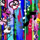 Composition abstraite de fleur illustration stock