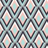 Composition abstraite des formes géométriques Empreinte digitale illustration de vecteur