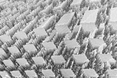 Composition abstraite en forme, blocs de structure géométrique Papier peint pour la conception graphique images stock