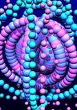composition abstraite trois dimensionnels Images libres de droits