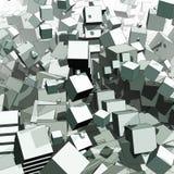 composition abstraite trois dimensionnels Photographie stock libre de droits