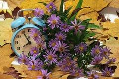 Composition with alarm clock. Still Life / Composition with alarm clock royalty free illustration