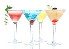 Composition alcoolique populaire en cocktails Photos stock