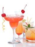 Composition alcoolique populaire en cocktails Photo stock