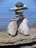 Composition artistique des pierres images libres de droits