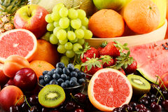 Composition with assorted fruits Royalty Free Stock Image