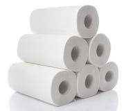 Composition avec des petits pains de serviette de papier photos stock