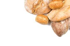 Composition avec du pain image stock
