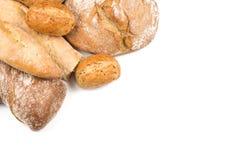Composition avec du pain image libre de droits