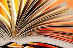 Composition avec livres reliés dans la bibliothèque Photographie stock