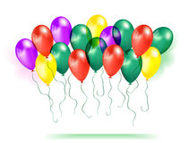 Composition of balloons Royalty Free Stock Photo