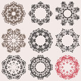 Composition with beautiful circular pattern on background for yo Royalty Free Stock Photo