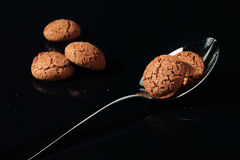 Composition of biscuits Royalty Free Stock Images
