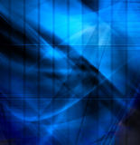 Composition bleue abstraite Image stock