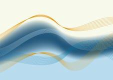 Composition bleue de fond illustration stock