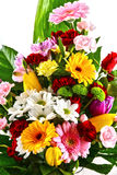Composition with bouquet of flowers Stock Photography