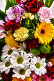 Composition with bouquet of flowers Royalty Free Stock Photos