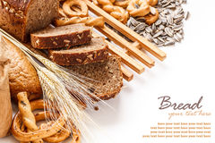 Composition with bread Royalty Free Stock Images