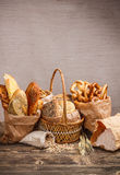 Composition with bread Royalty Free Stock Image