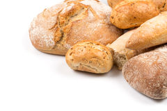Composition with bread Royalty Free Stock Photos