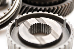 Car gearbox sprocket. Royalty Free Stock Image