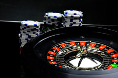 Composition of casino stuff Stock Photo