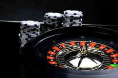 Composition of casino stuff. Elegant casino theme, ambient light stock photo
