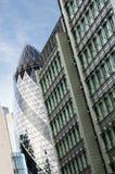 Composition centrale d'architecture de district de Londres Photographie stock libre de droits