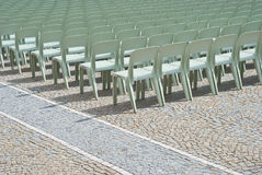 Composition of Chairs Stock Photo