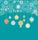 Composition for christmas decoration Stock Photo