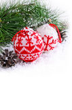 Composition for Christmas Stock Photo