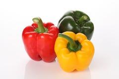Composition colorée de vitamines Images stock