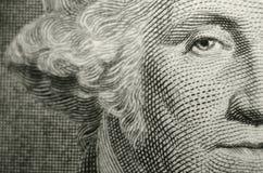 Composition compensée comportant l'oeil du franc-maçon, père fondateur, George Washington illustration libre de droits