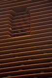 Composition of Cor-Ten steel Royalty Free Stock Photography