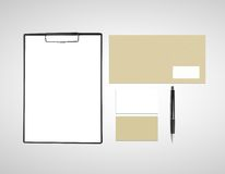 Composition for corporate identity Royalty Free Stock Photography