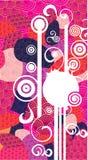 Composition décorative Image stock
